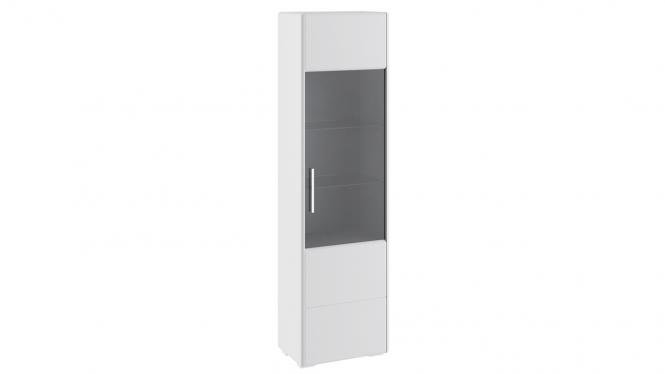 Шкаф для посуды «Наоми» Белый глянец